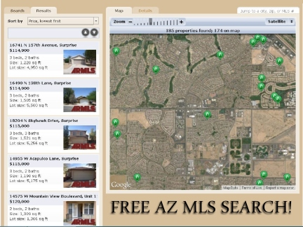 Free AZ MLS Search