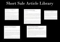 Arizona Short Sale Articles